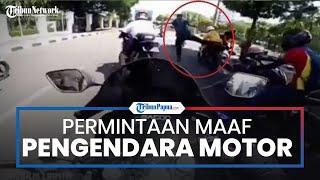 Setelah Videonya Viral, Pengendara Moge yang Terobos Ring 1 Datangi Mako Paspampres dan Minta Maaf