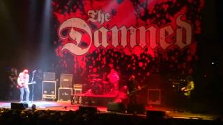 The Damned @ Le Zénith - Paris - Wait for the Blackout / Lively Arts - 18/11/2014