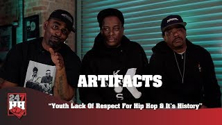 Artifacts - Youth Lack Of Respect For Hip Hop & It's History (247HH Exclusive)