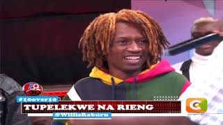 Tupelekwe na Rieng performing live on | 10 over 10
