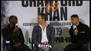 """""""YOU QUIT!"""" TERENCE CRAWFORD CALLS OUT AMIR KHAN AFTER THEIR FIGHT!"""