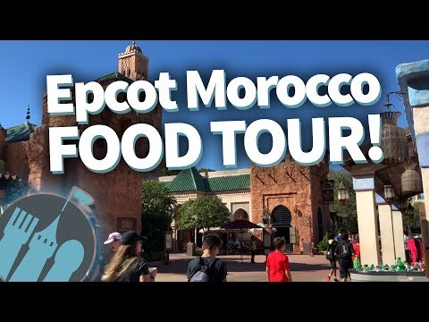 Disney World Food Tour: EVERY Food Location in Epcot's Morocco!