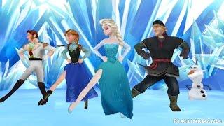 Frozen Gangnam Style [MMD]