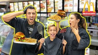 WORKING At a FAST FOOD RESTAURANT! **WE GOT FIRED** | The Royalty Family