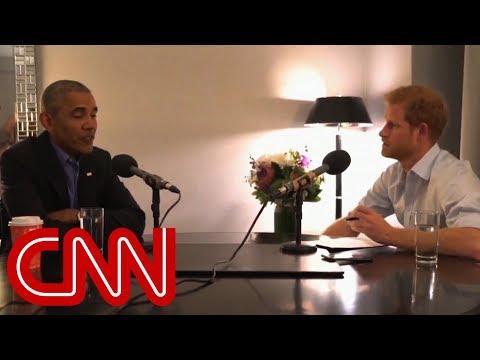 Prince Harry interviews Obama