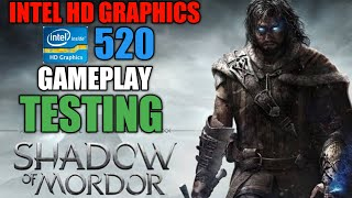 Middle Earth: Shadow of Mordor | INTEL HD GRAPHICS 520 | GAMEPLAY TESTING 8GB RAM #techalihd