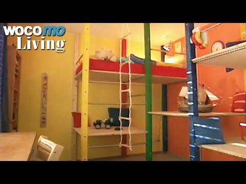 Klettergerüst im Kinderzimmer gestalten - Tapetenwechsel (BR)   Staffel 3 - Folge 8