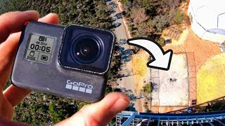 GOPRO CATCHING from 45m! (150 Feet)