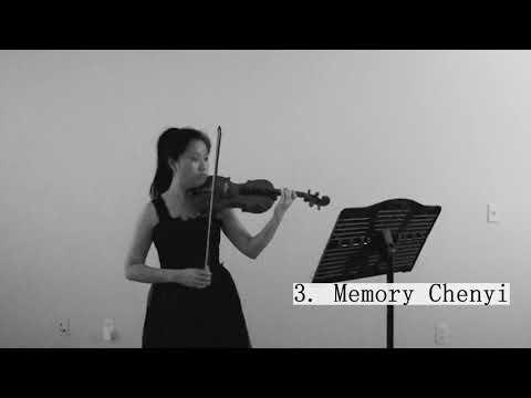 Silvia Remote Recital - Memory by ChenYi