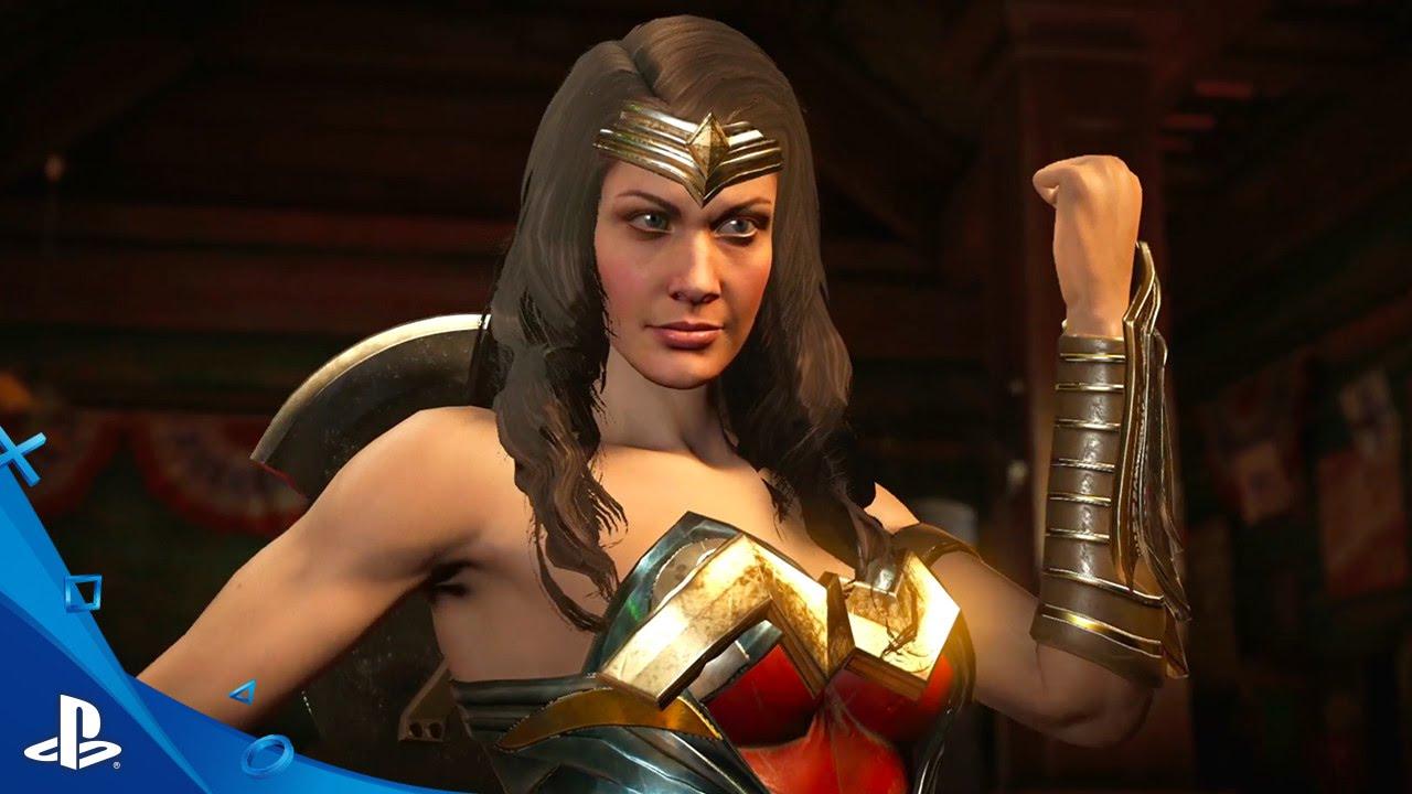 Injustice 2: Mulher-Maravilha e Besouro Azul se Juntam à Luta