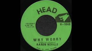 WHY WORRY / AARON NEVILLE [HEAD H-1049]