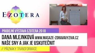 Dana Mlejnková: Naše sny a jak je uskutečnit