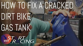 How To Fix A Crack In A Dirt Bike Gas Tank