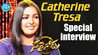 Actress Catherine Tresa Special Interview || Sarrainodu Movie