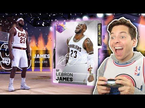 I GOT *LIMITED* GALAXY OPAL LEBRON JAMES! NBA 2K19 Pack Opening