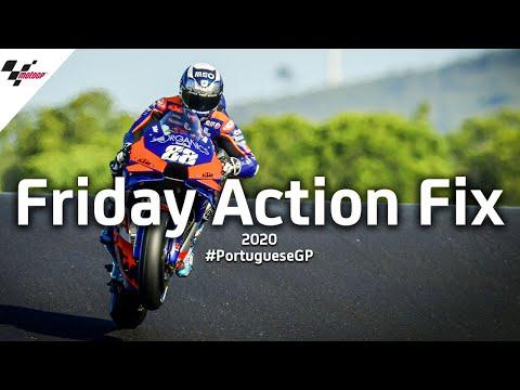 MotoGP ポルトガルGP 金曜日に行われたフリープラクティスの様子をまとめたハイライト動画