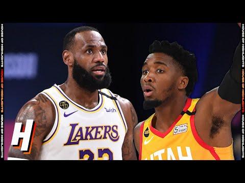 Los Angeles Lakers vs Utah Jazz – Full Game Highlights | August 3, 2020 | 2019-20 NBA Season