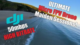 The Ultimate Micro FPV Drone Maiden - DJI 50mbps High Bitrate Mode - Vista 3 inch Prototype