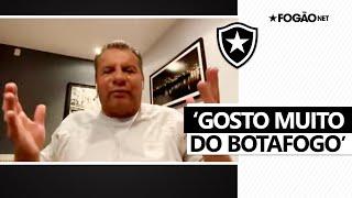 Celso Roth se declara ao Botafogo: 'Gosto muito. Trabalhei lá e me senti em casa' 🖤🏠