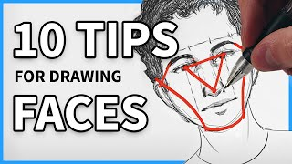 How To Draw A Face: 10 Common Problems And How To Fix Them