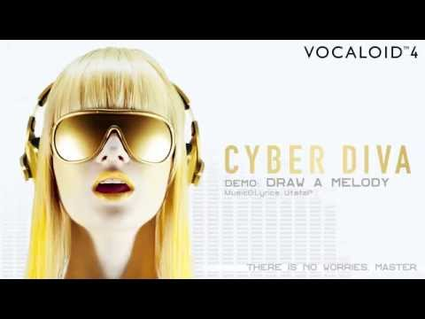 【CYBER DIVA】Official Demo DRAW A MELODY / UtataP