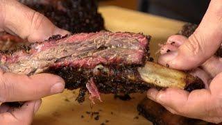 Texas Style BBQ Beef Ribs!
