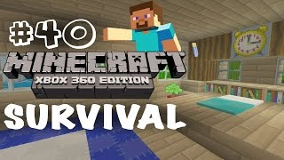 Minecraft Xbox 360: Survival Let's Play - Part 40 - Fancy Bedroom