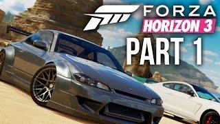 Forza Horizon 3 Gameplay Walkthrough Part 1 - INTRO (Full Game)