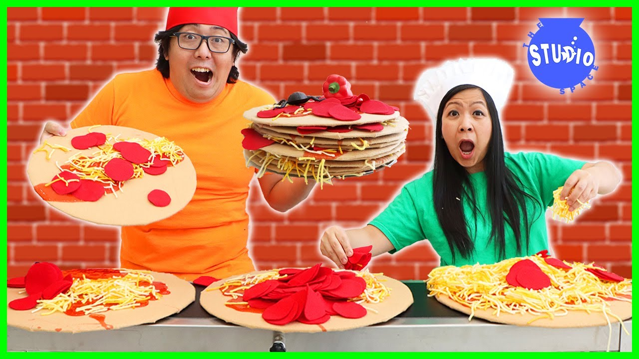 Shion & Loan Collaborate in Pizza Conveyor Belt OBSTACLE! thumbnail
