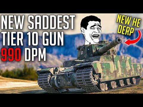 This is What's Left of DERPS in World of Tanks ⛔   High-Explosive Shell Rebalance
