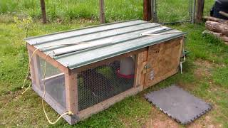 Secure your food now...Build a chicken tractor.