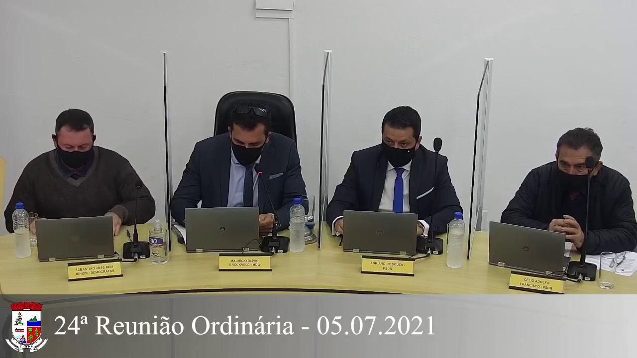 24ª Reunião Ordinária 05/07/2021