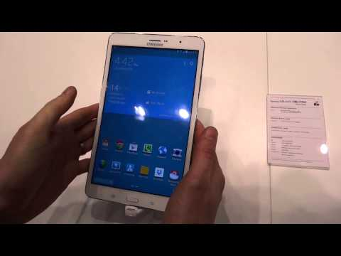 MWC 2014: Samsung Galaxy Tab Pro 8,4, video anteprima