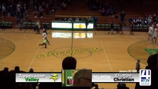 Tippecanoe Valley Boys Basketball vs Clinton Christian