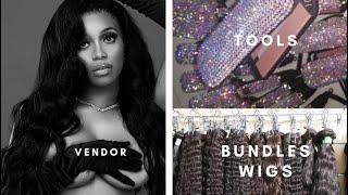 How To Find A Hair Vendor NO Alibaba AliExpress or Vendor Plug | Hair Entrepreneur Vlogs