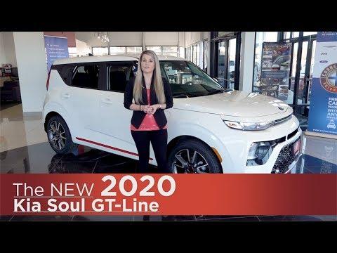 New 2020 Kia Soul GT-Line
