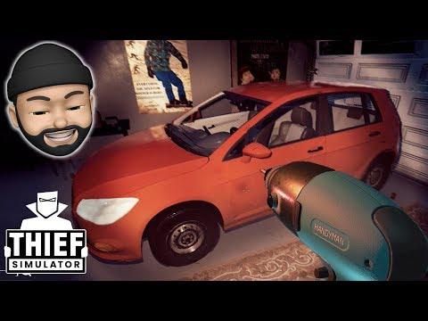 STEALING A FAMILY CAR!!   Thief Simulator #20
