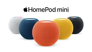 HomePod mini, now in color | Apple