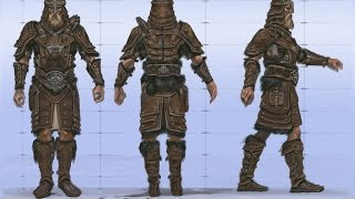 TES V Skyrim - Кожаная броня #3