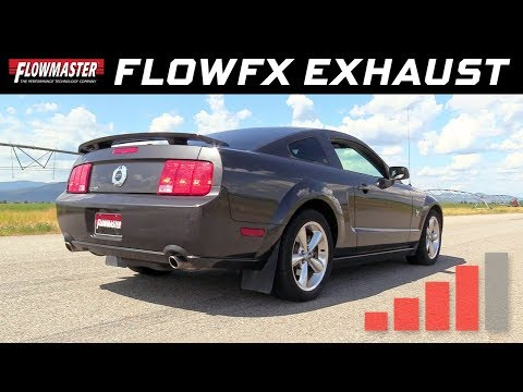 2005-10 Ford Mustang GT, Shelby, GT500 4.6L, 5.4L - FlowFX Axle-back Exhaust 717827