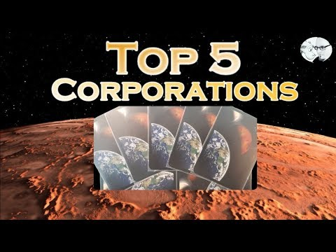 Terraforming Mars: Top 5 Corporations