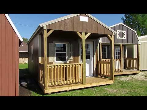 NEW DERKSEN 12X24 CABIN WITH ELECTRICAL WIRING PACKAGE