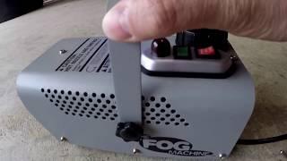 Fog Machine (400 watt) Demonstration-HD 60fps