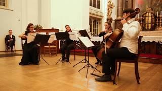 Turina 'La oracion del torero', Inguz-quartet live on Youtube. November 2018, The Hague
