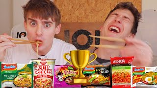 INDOMIE VS THE WORLD: Finding The BEST Instant Noodle!!!🍜