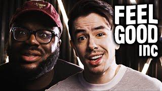 Gorillaz - Feel Good Inc. [ROCK Cover by NateWantsToBattle ft. @shofu]