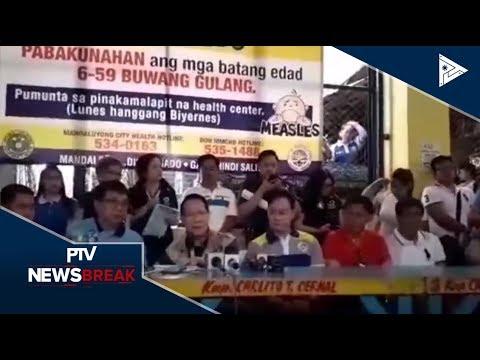 NEWS BREAK: Health secretary Francisco Duque, pinangunahan ang pag-iikot at pamimigay ng libreng bak