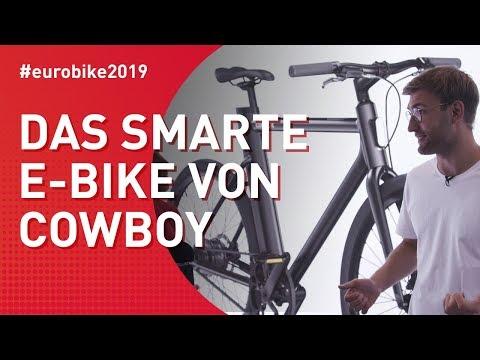 Eurobike 2019 - Das smarte E-Bike von Cowboy