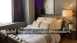 Interior Design / Hotel Inspired / Condominium Renovation / 1 Bedroom Unit