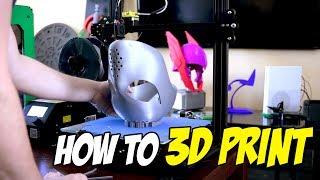 How do I 3D Print something? 3D Printing Basics